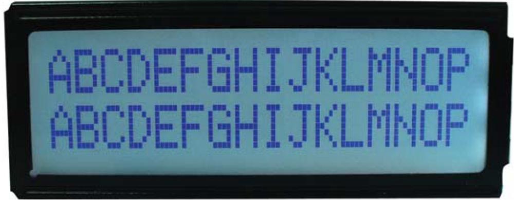 16x2 Character LCD , BC1602L