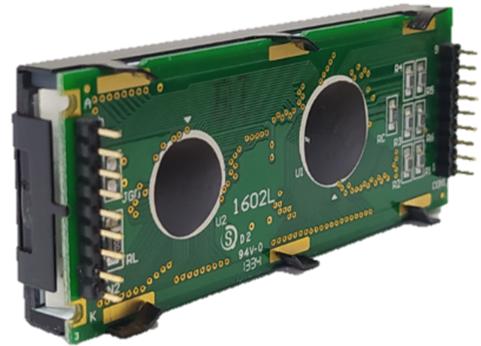 16x2 Character LCD , BC1602L profile