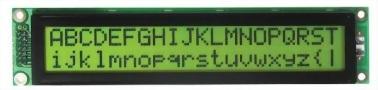 20x2 Character LCD, BC2002B
