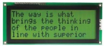 20x4 Character LCD, BC2004B