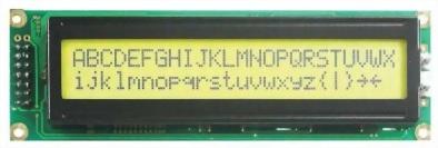 24x2 Character LCD, BC2402A