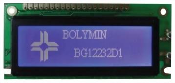 122x32 Graphic LCD Display, BG12232D1
