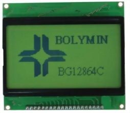 128x64 Graphic LCD Display, BG12864C