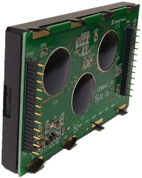 128x64 Graphic LCD Display, BG12864J profile