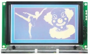 240x128 Graphic LCD Display, BG240128A