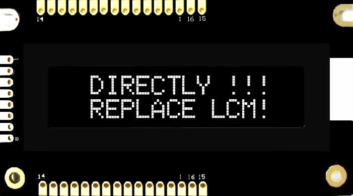 16x2 COB OLED Character Display, BL1602HM
