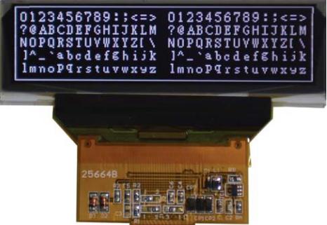 256x64 OLED Graphic Display, BL25664B