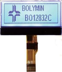 128x32 COG LCD Display Module, BO12832C