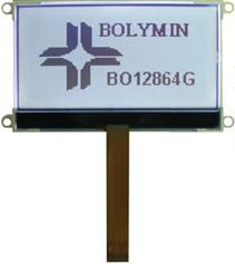 128x64 COG LCD Display Module
