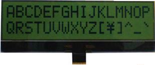 16x2 COG LCD Display Module, BO1602E