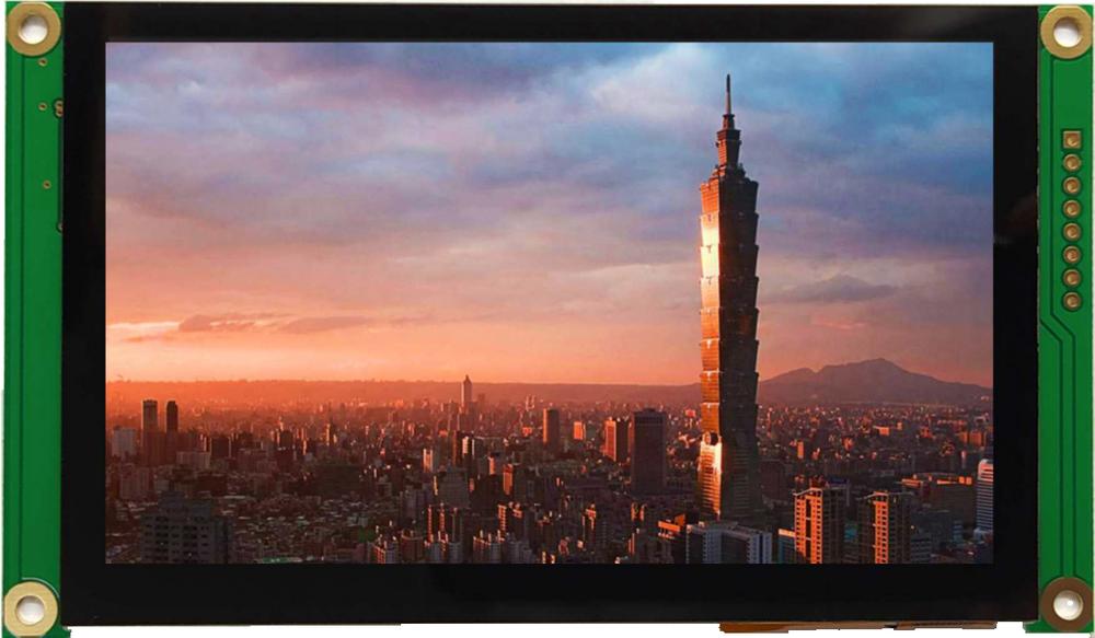 4.30 inch 480x272 mTFT Display, BT043DKFAHWcp$