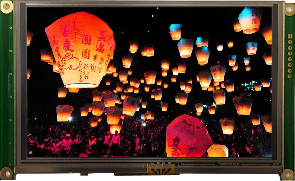 5.0 inch 800x480 mTFT Display, BT050DMGAHWp$