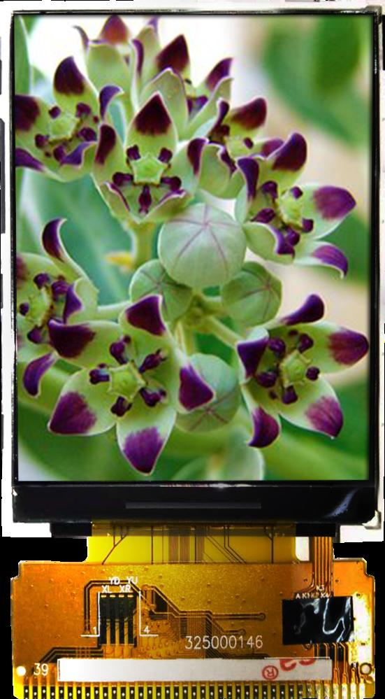 2.40 inch 240x320 TFT Display, BTF024A-EHN$