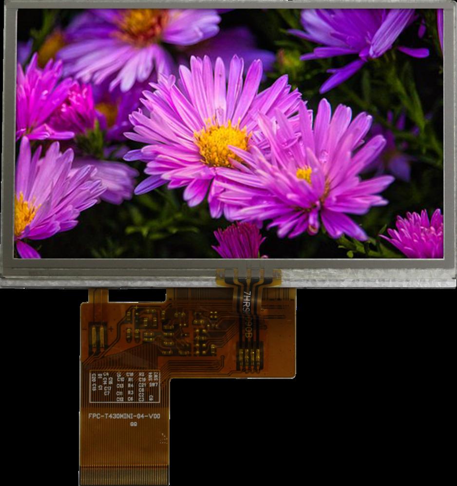 4.30 inch 480x272 TFT Display, BTF043B-AWR$
