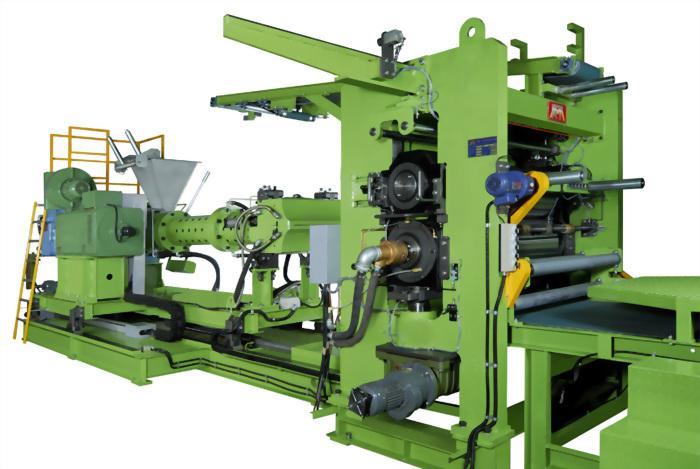 Rubber Calendering Machine