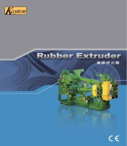 Rubber Extruder machaine