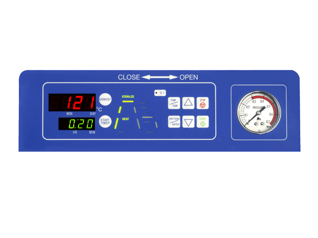 數位型高壓滅菌鍋CL系列-2