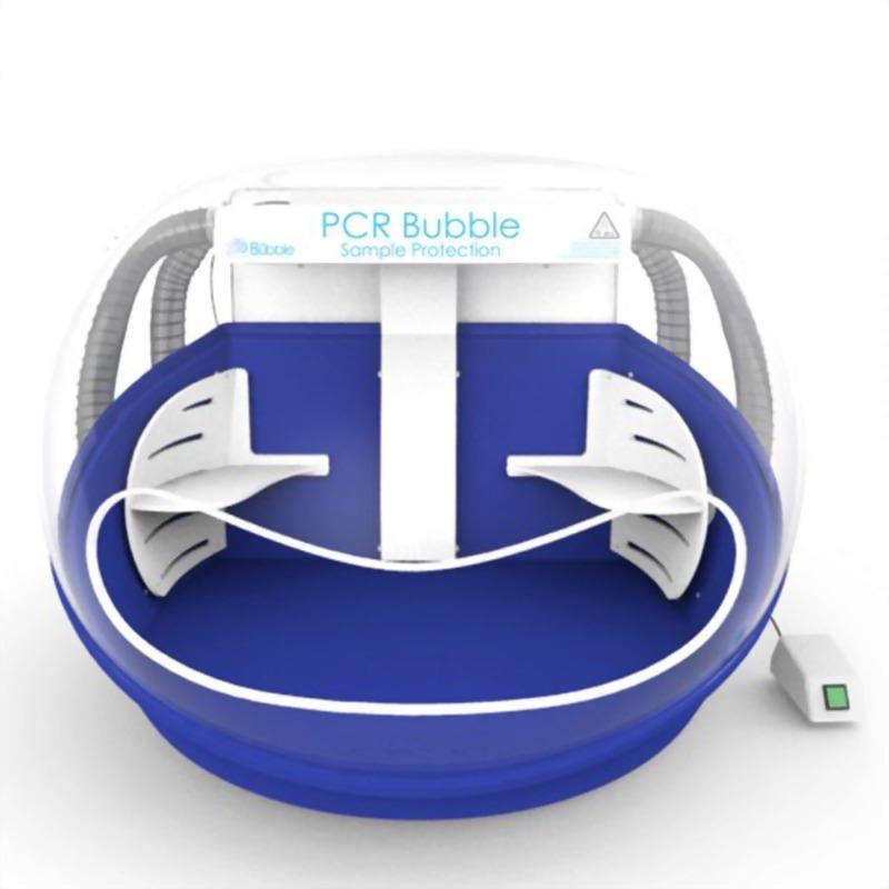 彩色安全操作艙-清潔空氣PCR工作站-2