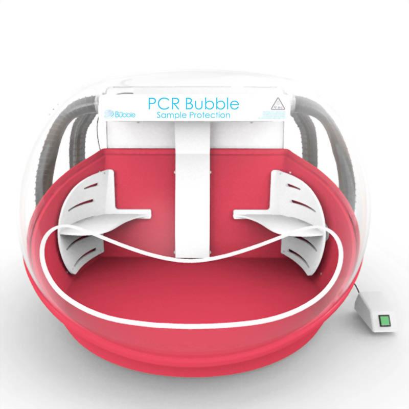 彩色安全操作艙-清潔空氣PCR工作站-4