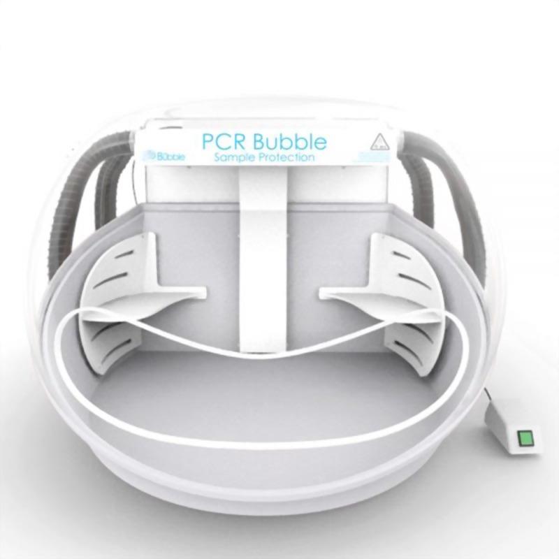 彩色安全操作艙-清潔空氣PCR工作站-5