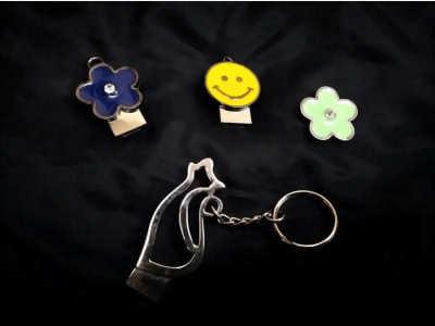 帶頭鑰匙圈, 客製化鑰匙圈, 禮贈品鑰匙圈