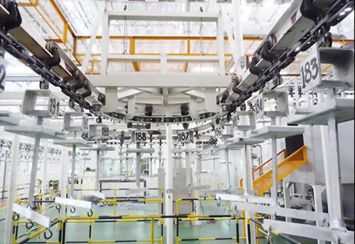 X-458 Overhead Conveyor System
