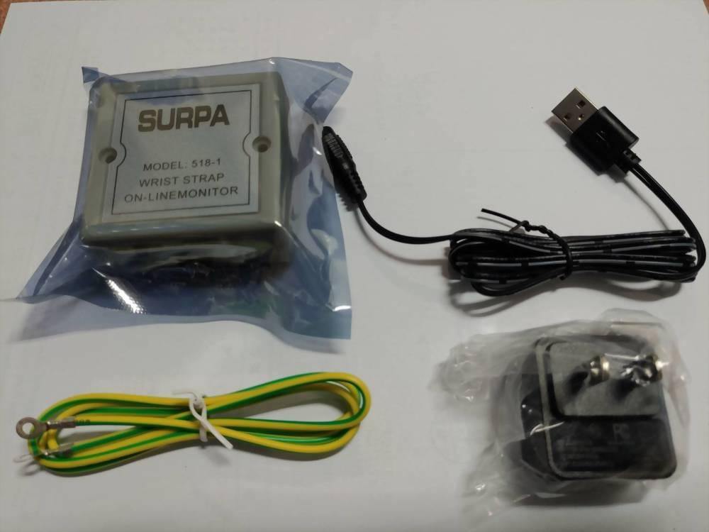 靜電手環監視器518-1