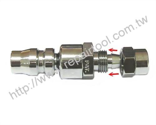 NITTO Type Swivel Plug for 5mm x 8mm hose
