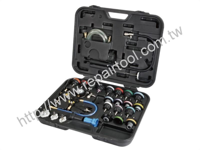 31PC Cooling System Leakage Tester and Vacuum-Type Coolant