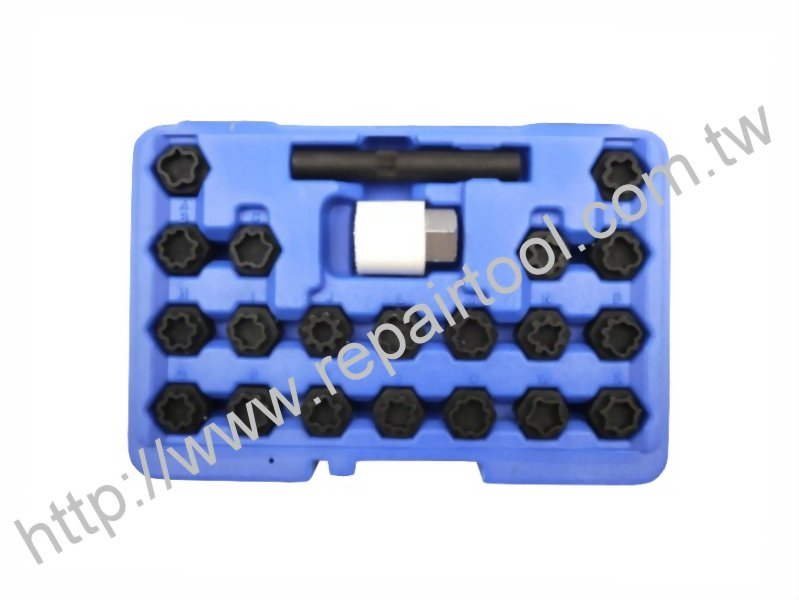 22Pcs Wheel Locking Key Set For Audi