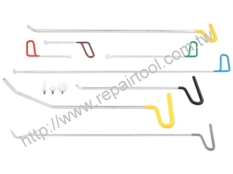 Paintless Dent Removal (PDR) Tools (8pcs)