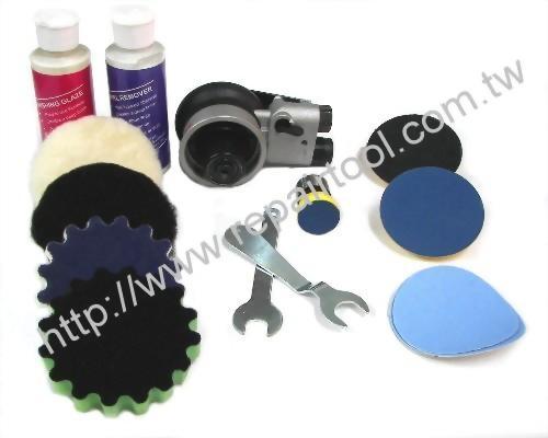 Buffer polish rotary sander & mini ros kit
