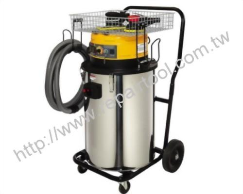 Industrial Vacuum Cleaner with 2 Hoses kit.