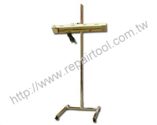 Infrared Quartz Paint Curing System. Single Lamp