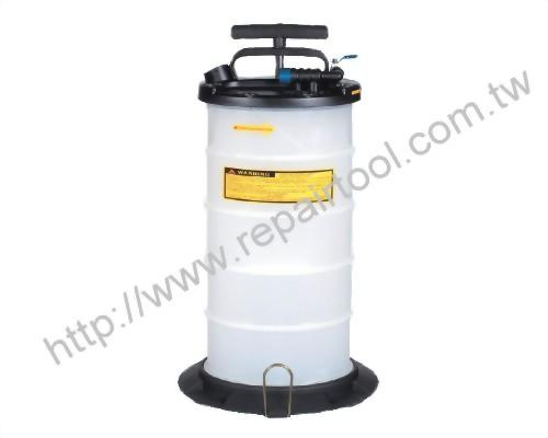 9.5L Pneumatic / Manual Operation Fluid Extractor
