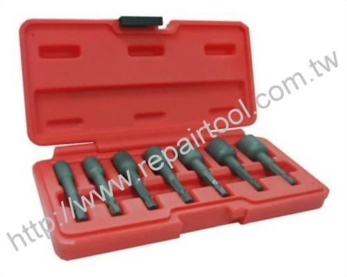 "1/4"" DR Power Fastener Extractor Set"