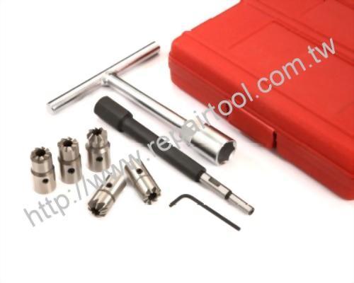 Diesel Injector Seat Cutter Set (7pcs)