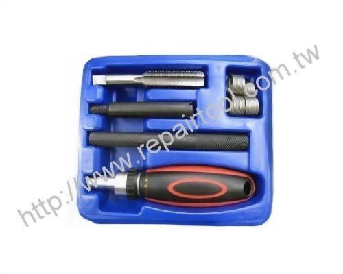 8 Pc Professional-Threaded Coil-Insert Repair Kit