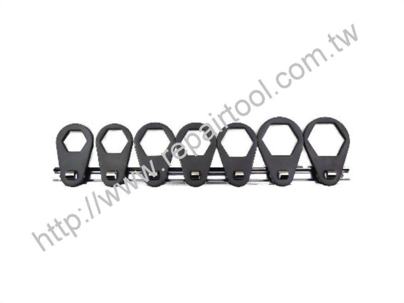 7pcs Oil Filter Offset Wrench Kit