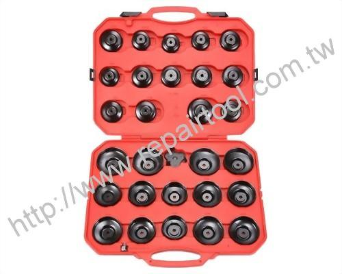 30pcs Cup Type Oil Filter Wrench Set