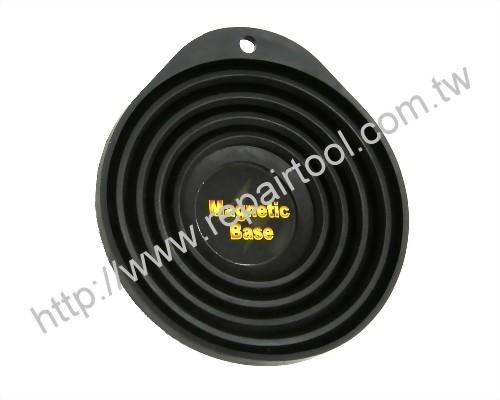 Retractable Magnetic Parts Dish(Rubber)