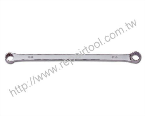 Extra-Long Offset Double Ring Wrench