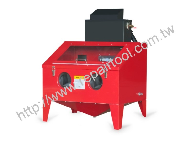Sand Blaster Cabinet With Collector
