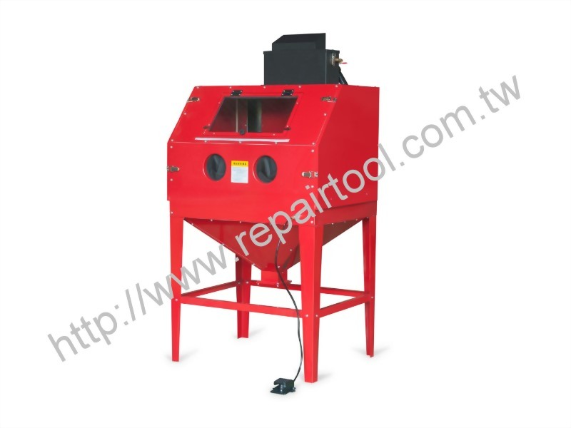 Heavy Duty Sand Blaster Cabinet With Collector