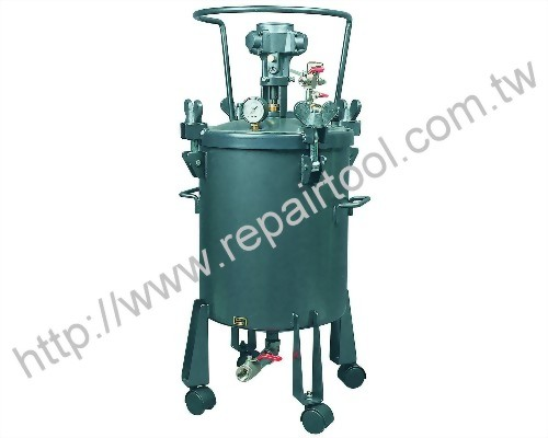 200 Liter Pressure Pot with Air Motor