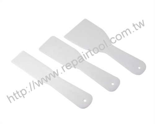 3PC Plastic Putty Knife Set