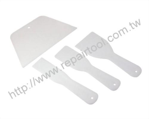 4PC Plastic Putty Knife Set