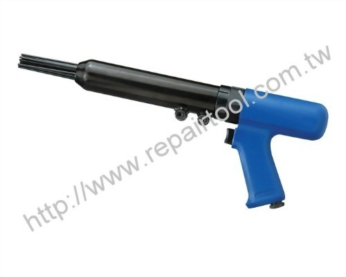 Vibration-Damped Pistol Grip Needle Scaler
