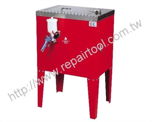 Air-Powered Gun Washer/Recycler