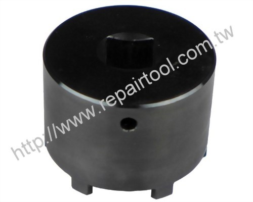 Groove nut socket with 6 studs ( DR. 3/4